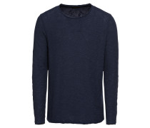 Shirt 'yarndyedslub LS' navy