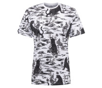 T-Shirt 'pilas' weiß