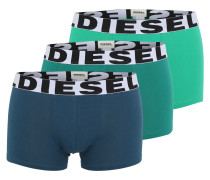Pants im 3er-Pack blau / smaragd
