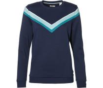 Sweatshirt blau / türkis