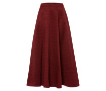 Rock Midi Circle Skirt blutrot