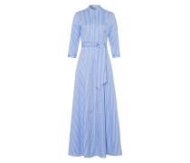 Dress blau / weiß