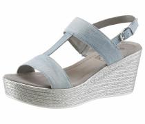 Sandalette hellblau