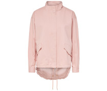 Einfarbige Jacke rosa