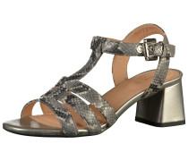 Sandale grau / platin
