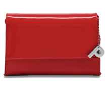 Auguri Damentasche Leder 19 cm rot