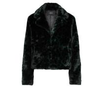 Jacke dunkelgrün / schwarz