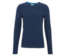 Pullover im Neppy-Look indigo
