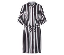 Kleid 'Gabriel' schwarz / weiß