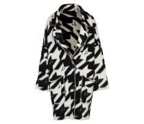 Mantel 'Chat' schwarz / weiß