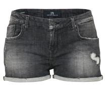 Knappe Used Shorts 'Judie' grey denim