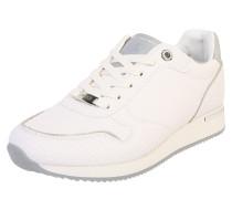 Sneaker 'Eke' weiß / silber