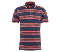 Poloshirt navy / rot