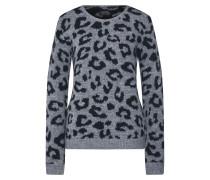 Pullover 'Fee' grau / schwarz