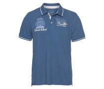 Poloshirt himmelblau / weiß