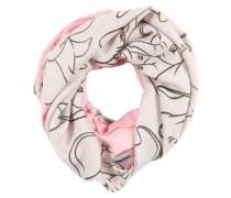Loopschal 'dumbo' grau / rosa
