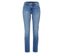 'Elly' Slimfit Straight Denim blue denim