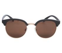 Sonnenbrille rosegold / schwarz