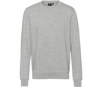 Sweatshirt 'Alrighttime' grau