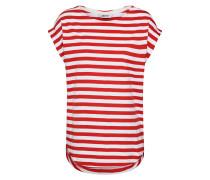 Shirt 'bell' weiß / rot