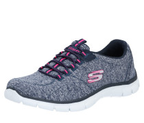 Sneaker graumeliert / rosa