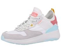 Sneaker hellblau / gelb / pitaya / weiß
