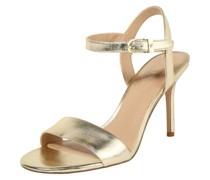 Sandale 'gwen' gold