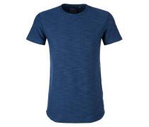 Meliertes Slub Yarn-Shirt