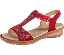 Sandale 'Hawaii' mischfarben / rot