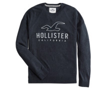 Pullover 'core Graphic Crew 4Cc' navy