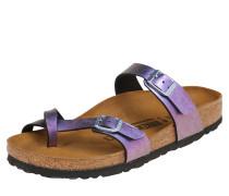 Lacksandale 'Mayari' violettblau