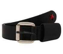 Gürtel 'b-Astar' rot / schwarz