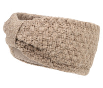 Stirnband mit Fleece-Futter beige