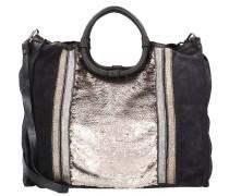 Handtasche gold / schwarz