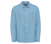 Hemd 'tjm Denim Pocket Shirt'