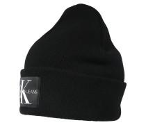 Mütze 'basic' schwarz