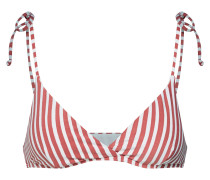 Bikinitop 'dos palmas tali' rot / weiß