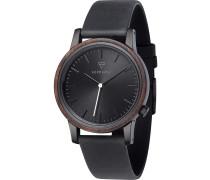 Armbanduhr 'Walter' schwarz