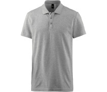 Poloshirt 'Essential Base' grau