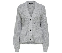 Warmer Cardigan grau