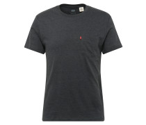 Shirt mit Streifen-Design anthrazit