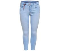 Regular fit Jeans 'Carmen reg crop zip'