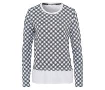 Shirt 'Bobbie' schwarz / weiß