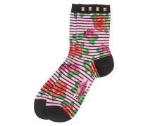 Socken 'Flowers & Rivet'