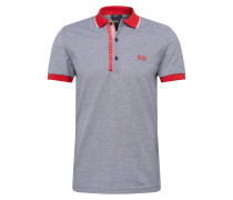 Poloshirt 'Paule 4' navy / rot