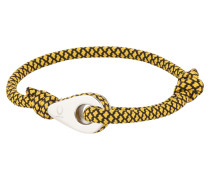 Armband 'Sport' gelb / schwarz