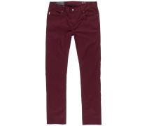 Jeans kirschrot