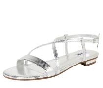 Sandalette 'nenna' silber