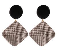 Ohrringe 'Fiala' schwarz / weiß