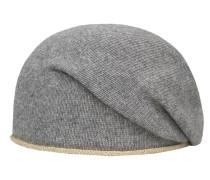 Mütze gold / grau